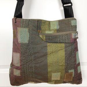 Maruca   Fabric Print Crossbody Shoulder Bag MO2